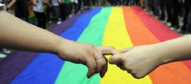 La bandiera dell'omosessualità.