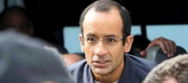 Marcelo Odebrecht sendo encaminhado para IML