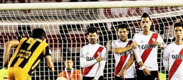 River empató a un gol frente Guaraní