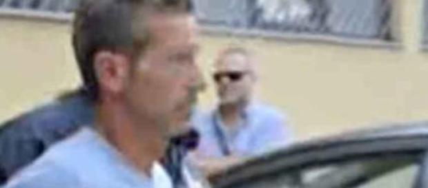 Una foto dell'arresto di Bossetti