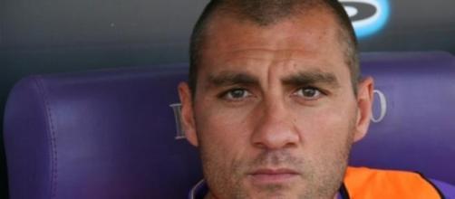 Christian Bobo Vieri all'epoca della Fiorentina