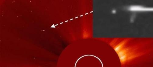 Immagini NASA dell'eruzione solare