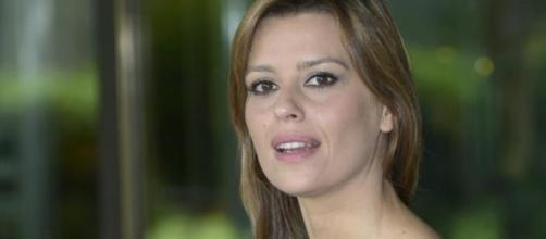 L'attrice Claudia Pandolfi