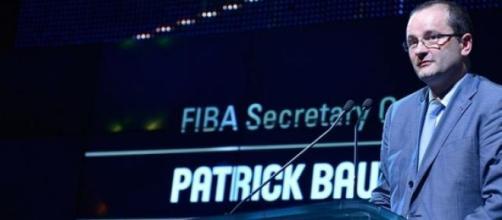 Patrick Baumann, presidente della Fiba.