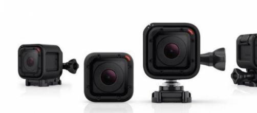 The GoPro Hero4 Session camera.