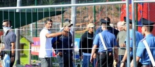 Violenti scontri tra tifosi a Castelrotto