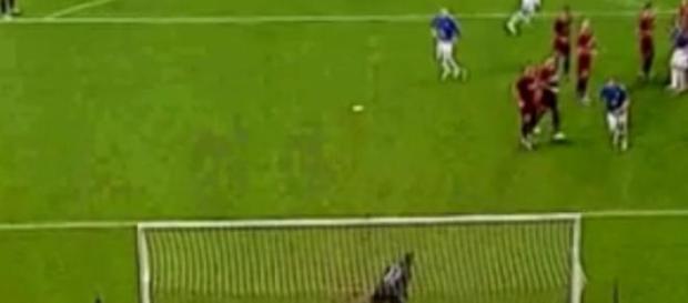 Tak padł jedyny gol meczu