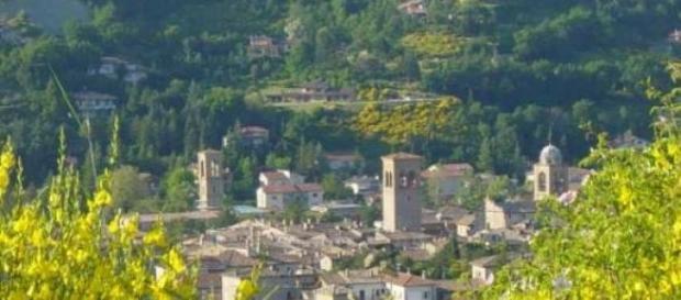 Uno scorcio di Sant'Angelo in Vado.