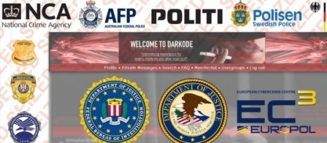 Cyberkriminelle verzweifelt, darkode.com geht offline.