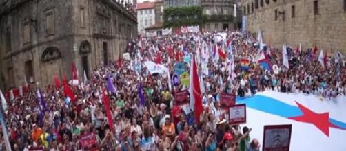 Manifestación del 25 de julio de 2014