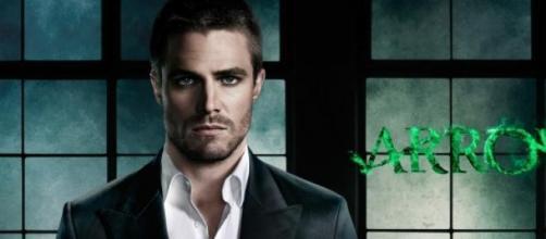 Oliver Queen, alias Arrow.