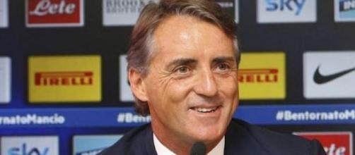 Roberto Mancini, tecnico dell'Inter