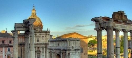 Roma, l'antico foro romano