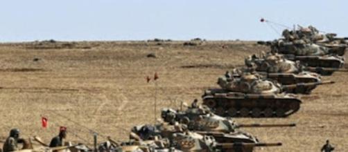 Turquía en combate contra 'EI', creará una muralla