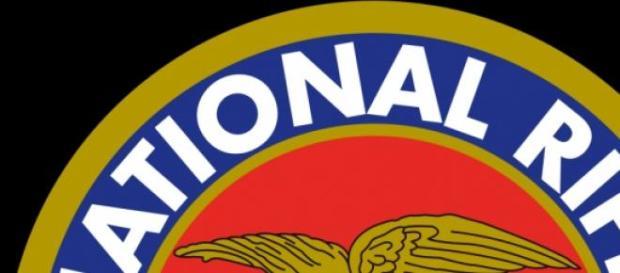 Lo stemma della National Rifle Association