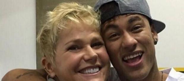 Xuxa e Neymar pedem doações e são criticados