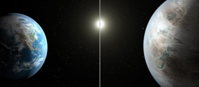 Similitudini tra Kepler e la nostra Terra.