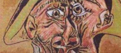Cuadro de Picasso, el Arlequín loco