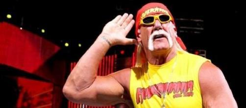 Hulk Hogan en acción en la WWE