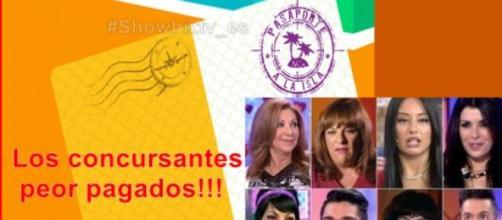 Los concursantes peor pagados de Telecinco