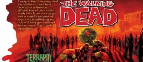 The Walking Dead, la prima birra degli zombie
