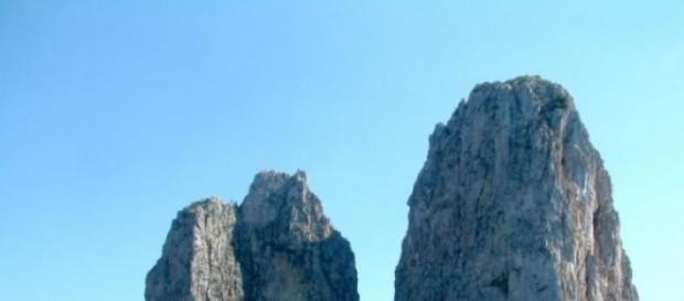 I bellissimi Faraglioni di Capri