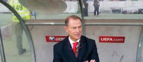 Gianni De Biase, CT dell'Albania