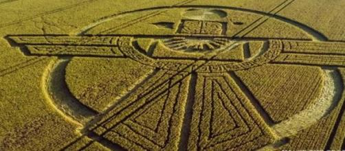 Crop Circle avvistato in Inghilterra
