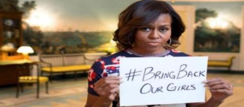 La First Lady, Michelle Obama.