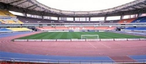 Lo Shanghai Stadium, teatro della Supercoppa 2015.