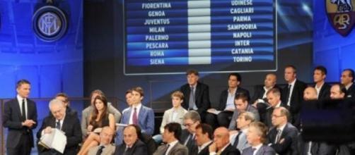 Sorteggio Calendario Serie A 2015/16, diretta tv