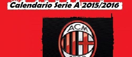 Calendario Serie A 2015/16 Milan e tutta la 1^ G.