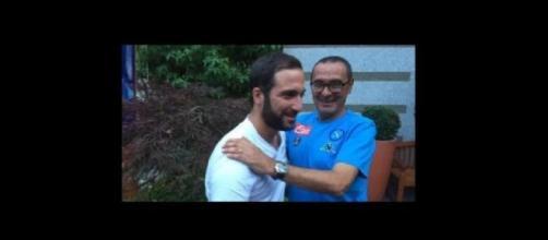 Gonzalo Higuain raggiunge la squadra a Dimaro
