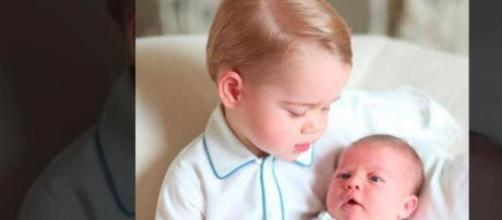 I royal baby George e Charlotte