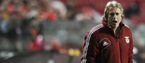 Jesus deixou o Benfica pelo rival Sporting.