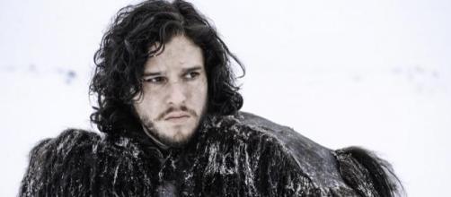 Jon Snow interpretato da Kit Harington