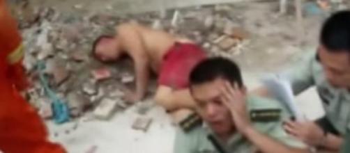 Policial arriscou a própria vida para salvar homem
