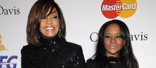 Whitney Houston e a filha Bobbi Kristina