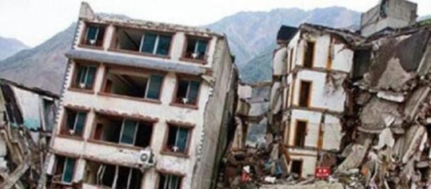 Efectos de un terremoto devastador