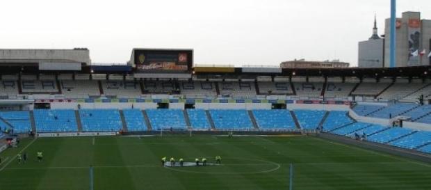 Estadio de fútbol de la Romareda