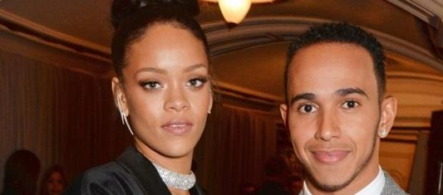 Lewis Hamilton and Rihanna an item?