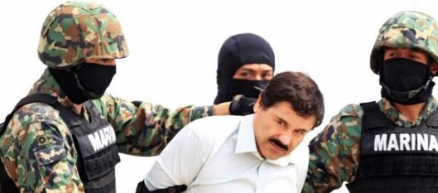 Margarito Flores nel momento dell'arresto