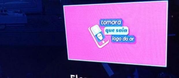 Net erra logo de programa da Globo