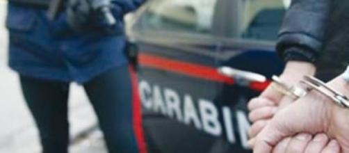 Carabinieri arrestano un uomo