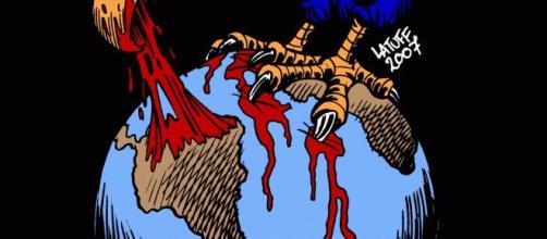 El águila:  símbolo de la dominación imperialista