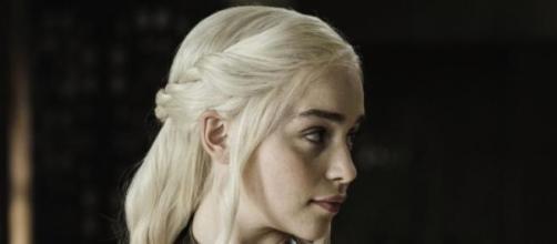 Emilia Clarke,Daenerys Targaryen in Trono di Spade