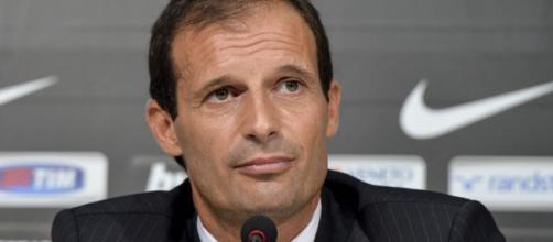 Il tecnico della Juventus, Allegri