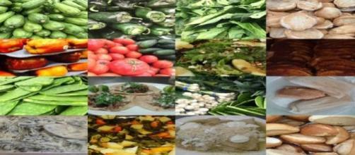 Ingredientes para la comida