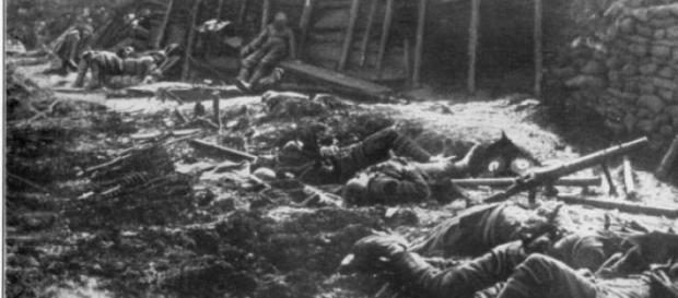 La prima Guerra Mondiale causò 17 milioni di morti