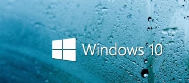 Logo de lluvia Windows 10